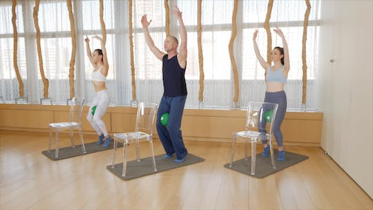 Instant Access to Basic Barre by Exhale On Demand, powered by Intelivideo