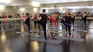 In-studio: Barre+Cardio with Nicole Uribarri, 3.13.19 by Exhale On Demand