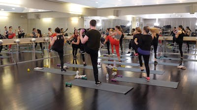 Instant Access to In-studio: Barre+Cardio with Nicole Uribarri, 3.13.19 by Exhale On Demand, powered by Intelivideo