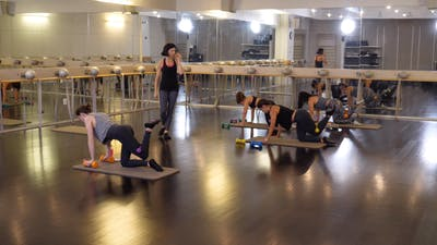In-studio: Barre with Kat Steers, 9.30.19 by Exhale On Demand