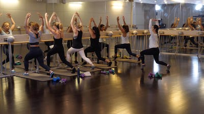 In-studio: Barre with Raphaelle Kessedjian, 9.26.19 by Exhale On Demand