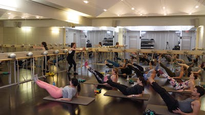 In-studio: Barre with Rachael Leitson, 9.12.19 by Exhale On Demand