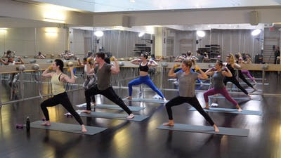 In-studio Yoga with Weights with Nicole 4.25.19 by Exhale On Demand