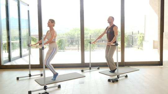 Instant Access to Classic Barre with the Founders by Exhale On Demand, powered by Intelivideo