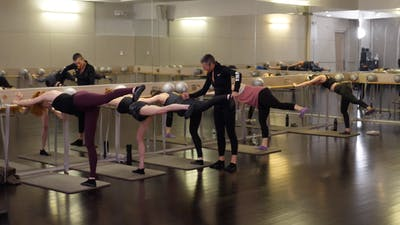 Instant Access to In-studio: Barre with Bergen Wheeler, 2.18.19 by Exhale On Demand, powered by Intelivideo
