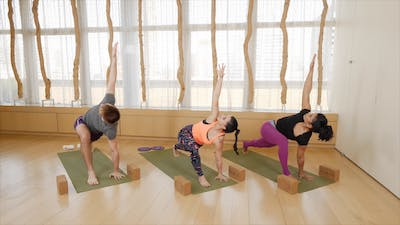 Instant Access to Hard Core Yoga by Exhale On Demand, powered by Intelivideo