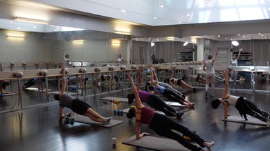 In-studio: Barre Mashup with Fred and Lis, 4.24.19 by Exhale On Demand