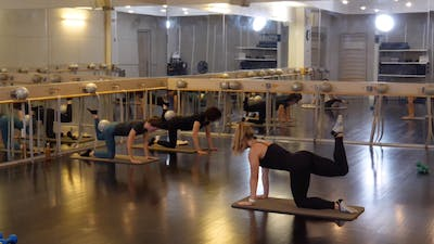 In-studio: Barre with Kate Havlicek, 10.10.19 by Exhale On Demand
