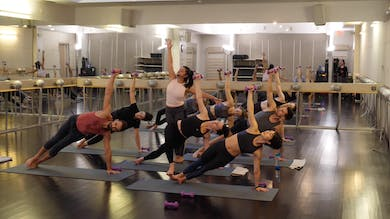 In-studio: Yoga with Weights with Nicole Uribarri, 2.28.19 by Exhale On Demand