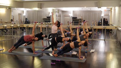 Instant Access to In-studio: Tone and Flow with Weights with Nicole Uribarri, 2.28.19 by Exhale On Demand, powered by Intelivideo