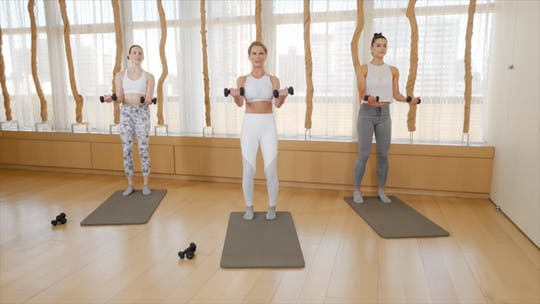 Instant Access to Upper Body Strength by Exhale On Demand, powered by Intelivideo