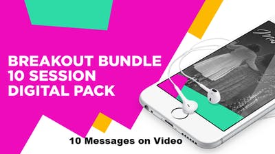 WTAL 2018 Breakout Session Bundle on VIDEO by The Potter's House of Dallas