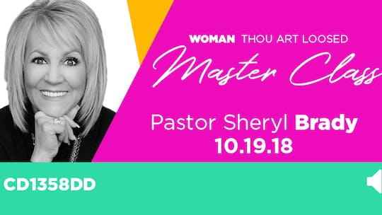 WTAL 2018 Pastor Sheryl Brady 'The Intimacy of Faith' - Audio by The Potter's House of Dallas