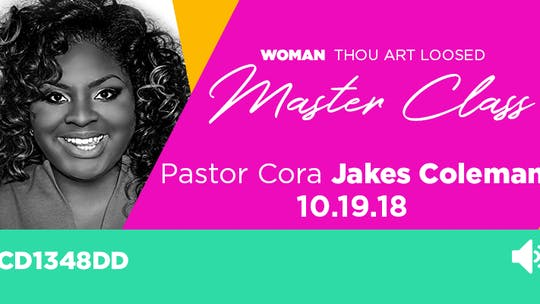 Pastor Cora Jakes Coleman - Audio by The Potter's House of Dallas, powered by Intelivideo