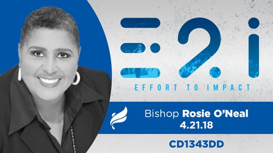 BISHOP ROSIE O'NEAL - Audio by The Potter's House of Dallas, powered by Intelivideo