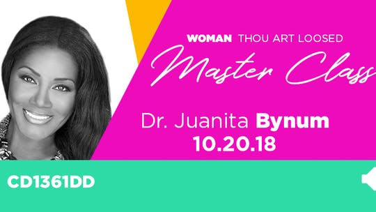 WTAL 2018 Dr. Juanita Bynum - Audio by The Potter's House of Dallas, powered by Intelivideo