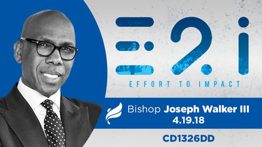 BISHOP JOSEPH WALKER III - Audio by The Potter's House of Dallas, powered by Intelivideo