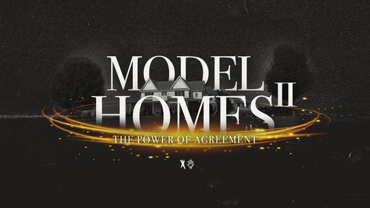 Model Homes II: The Power of Agreement | Bishop T.D. Jakes | Audio by The Potter's House of Dallas