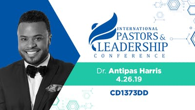 IPL 2019  Dr. Antipas Harris | The Holy Spirit, The Church and Social Justice | Audio by The Potter's House of Dallas