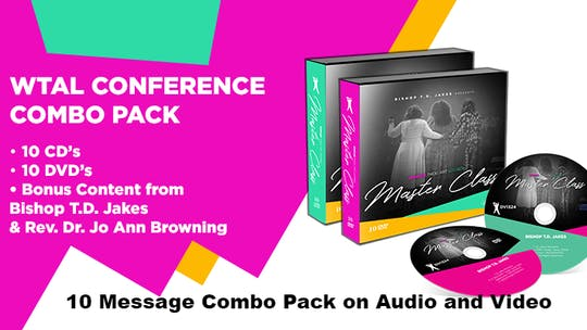 Instant Access to WTAL 2018 10 Message Bundle Plus Bonus Messages on Audio and Video by The Potter's House of Dallas, powered by Intelivideo