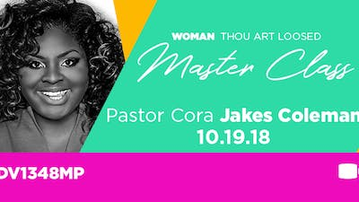 WTAL 2018 Pastor Cora Jakes Coleman - Video by The Potter's House of Dallas