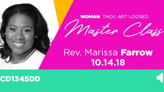 Rev. Marissa Farrow - Audio by The Potter's House of Dallas, powered by Intelivideo