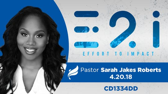 Instant Access to PASTOR SARAH JAKES ROBERTS - Audio by The Potter's House of Dallas, powered by Intelivideo