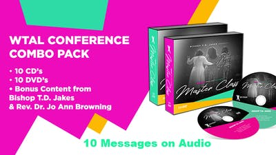 Instant Access to WTAL Conference 10 Message Combo Pack on Audio by The Potter's House of Dallas, powered by Intelivideo