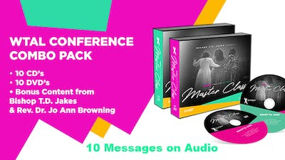 WTAL Conference 10 Message Combo Pack on Audio by The Potter's House of Dallas