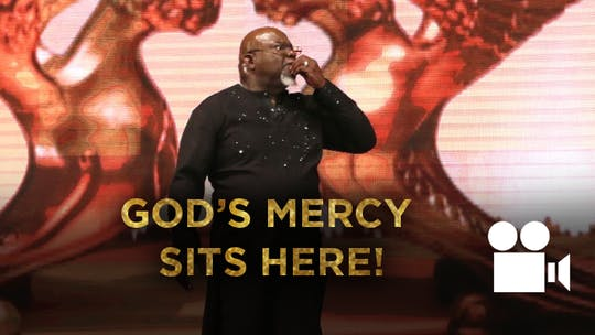 God's Mercy Sits Here VIDEO from the Gospel Hidden In A Tent Series by The Potter's House of Dallas, powered by Intelivideo