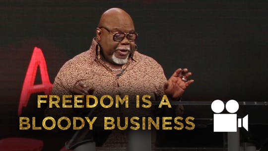 Freedom Is A Bloody Business - VIDEO from the Gospel Hidden In The Tent Series by The Potter's House of Dallas, powered by Intelivideo