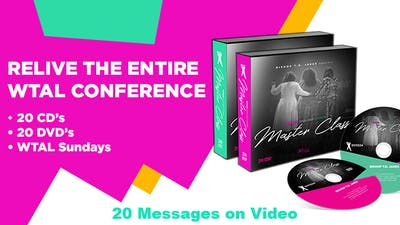 Instant Access to WTAL Complete Conference Set - 20 Messages on Video by The Potter's House of Dallas, powered by Intelivideo