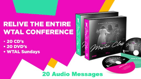 WTAL Complete Conference Set - 20 Messages on Audio by The Potter's House of Dallas, powered by Intelivideo