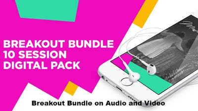Instant Access to WTAL Breakout Bundle - 10 Messages on Audio and Video by The Potter's House of Dallas, powered by Intelivideo