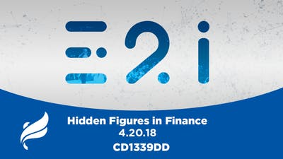 HIDDEN FIGURES IN FINANCE - Audio by The Potter's House of Dallas