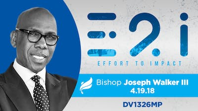 BISHOP JOSEPH WALKER III - Video by The Potter's House of Dallas