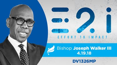 Instant Access to BISHOP JOSEPH WALKER III - Video by The Potter's House of Dallas, powered by Intelivideo
