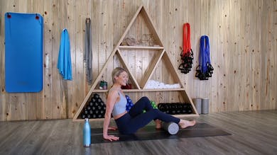 Foam Rolling Stretches with Michele by The Bloom Method