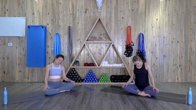Gentle Prenatal Softening Stretches with Madeline and Brooke by The Bloom Method