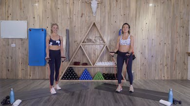 Express Upper Body Workout with Brooke and Michele EX10 by The Bloom Method