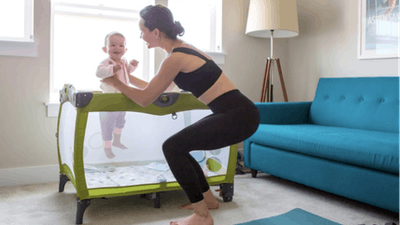 Postnatal Series Workout Calendar by The Bloom Method
