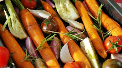 Postpartum & Lactation - Roasted Root Vegetables by The Bloom Method