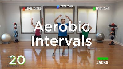 Aerobic Intervals by Hilton Head Health ONDEMAND