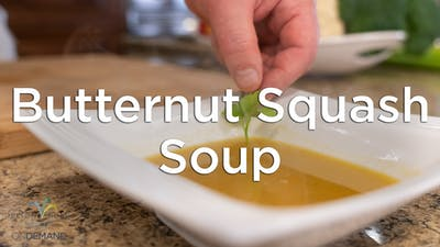 Roasted Butternut Squash Soup by Hilton Head Health ONDEMAND