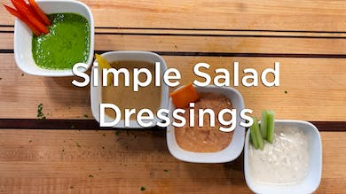 Dressing Up: Healthy & Delicious Dressings by Hilton Head Health ONDEMAND