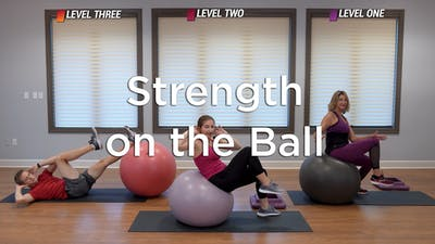 Strength on the Ball by Hilton Head Health ONDEMAND
