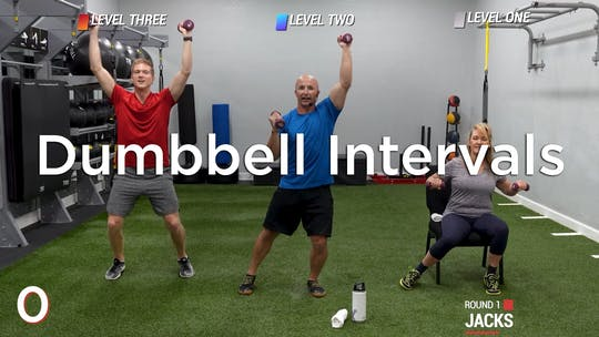 Dumbbell Intervals by Hilton Head Health ONDEMAND