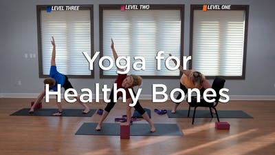 Yoga for Healthy Bones by Hilton Head Health ONDEMAND