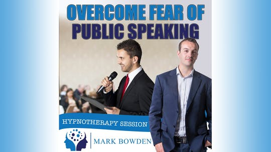 Instant Access to Overcome Fear of Public speaking by Mark Bowden Ltd, powered by Intelivideo