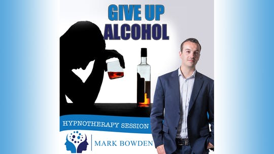 Instant Access to Give up Alcohol Hypnosis Audio by Mark Bowden Ltd, powered by Intelivideo